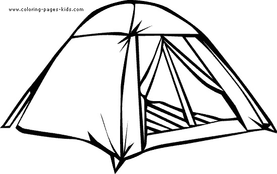 Tent Clipart Black And White Cliparts Co