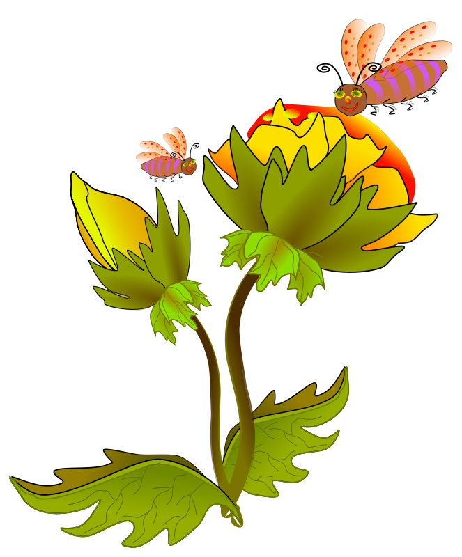 Flower Clipart On Cake Ideas and Designs