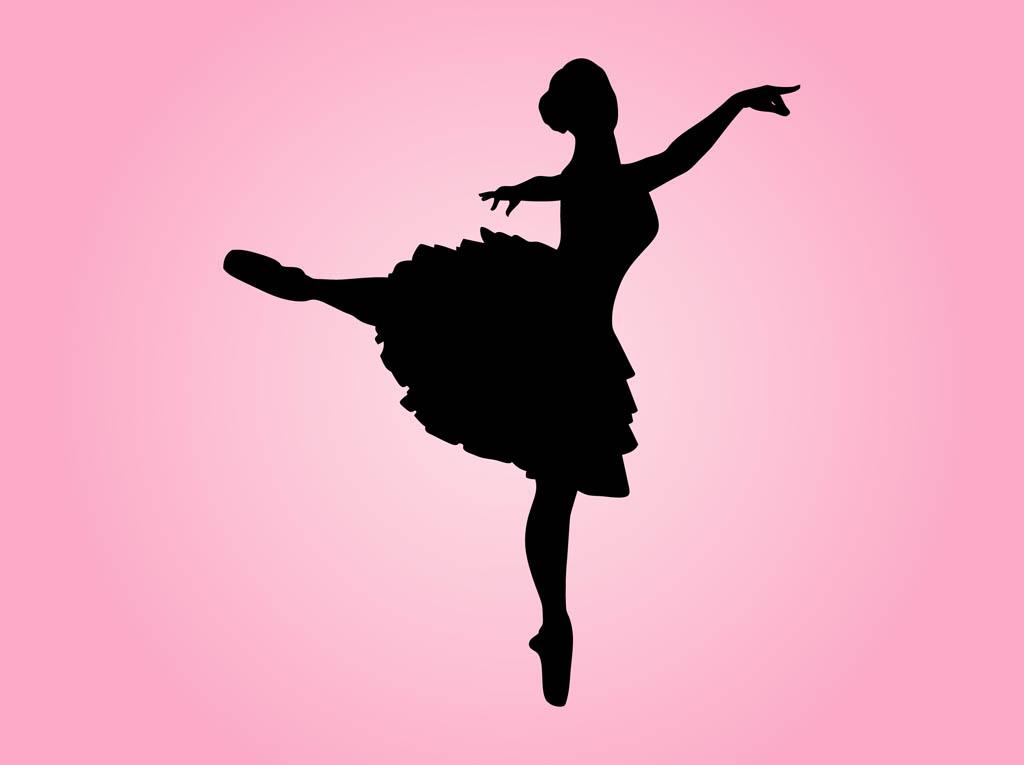 photo regarding Printable Ballerina Silhouette titled Imagine Of Ballerina -