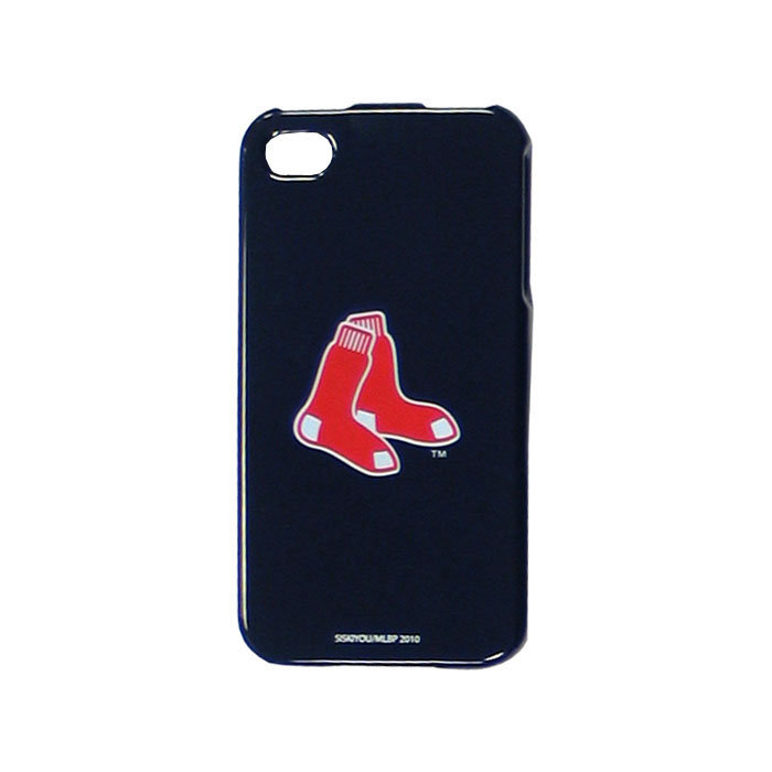 iPhone 4/4S Faceplate—Boston Red Sox at Brookstone. Buy Now!