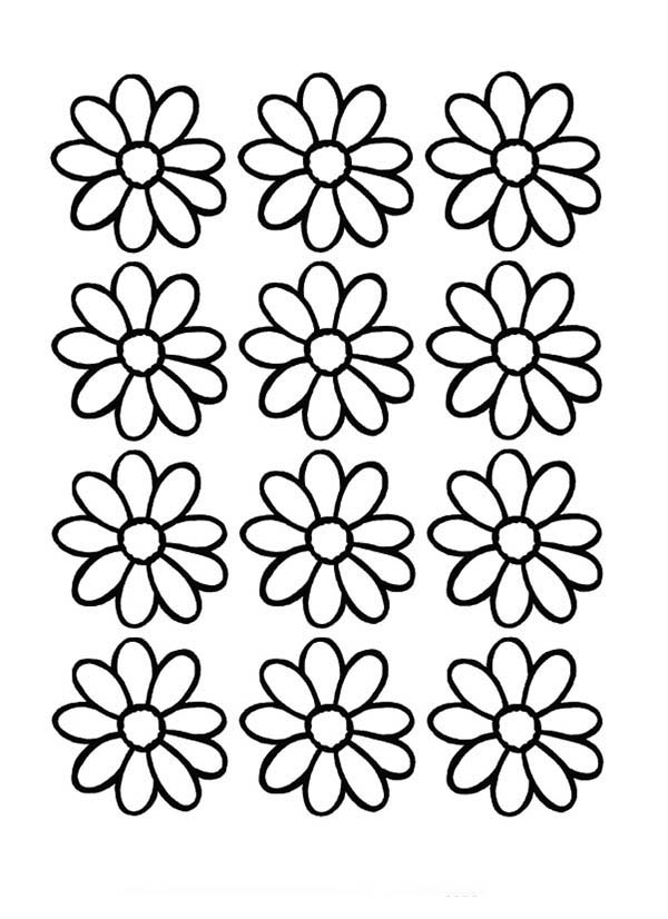 Adaptable image for daisy printable