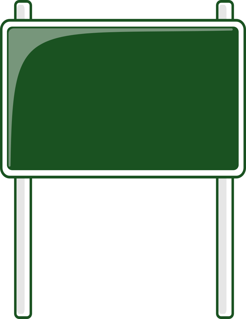 Highway Signs Clip Art - Cliparts.co