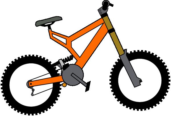 Bike clip art - vector clip art online, royalty free & public domain