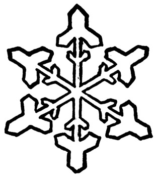 Christmas Clip Art Snowflakes - Cliparts.co