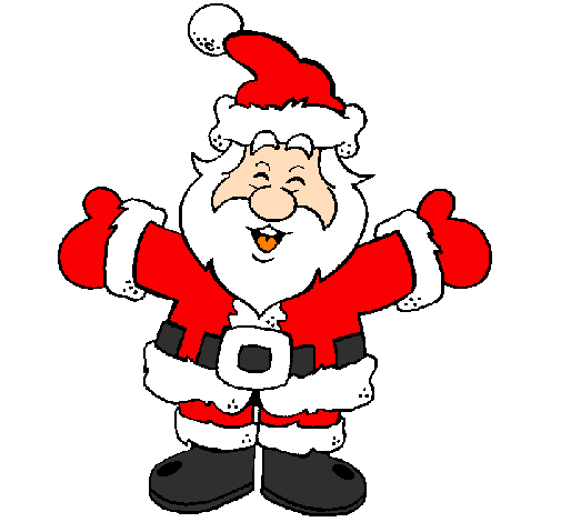 Pictures Of Father Xmas - ClipArt Best