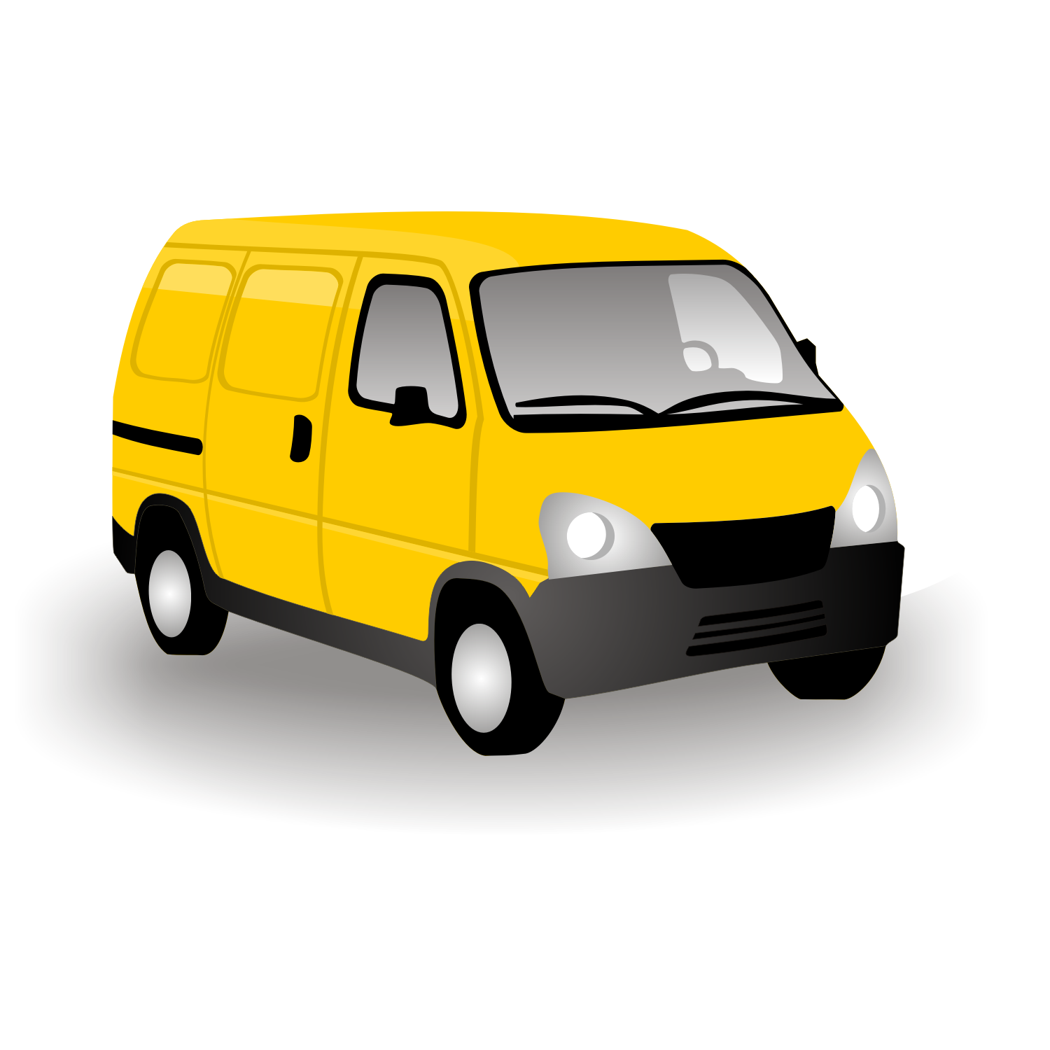 Line Drawing Van : Van clipart cliparts