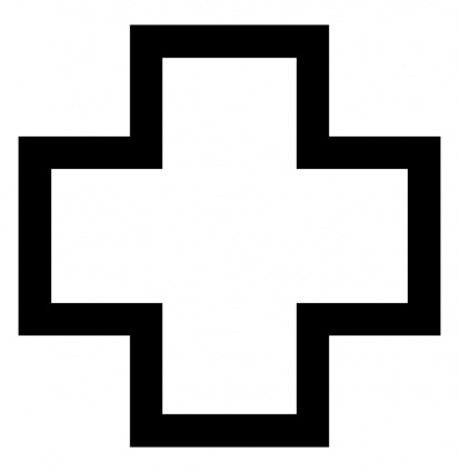 Free Cross Clipart Black And White - Cliparts.co