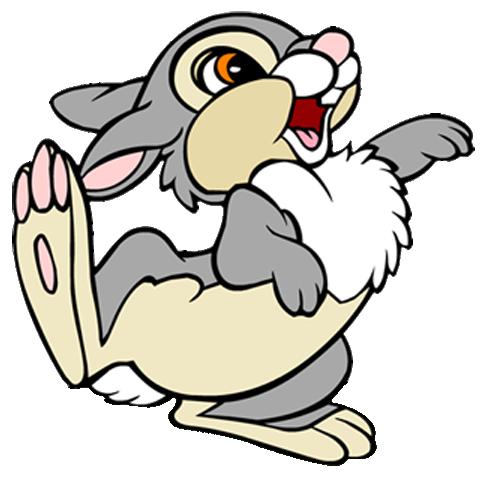 Rabbit Cartoon Clip Art - Cliparts.co