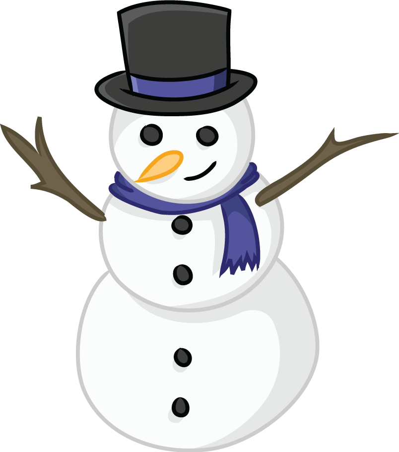 Free to Use & Public Domain Snowman Clip Art