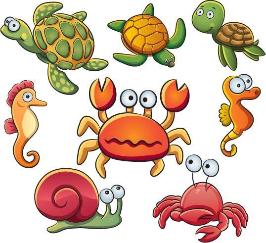 Ocean Animal Clipart - ClipArt Best