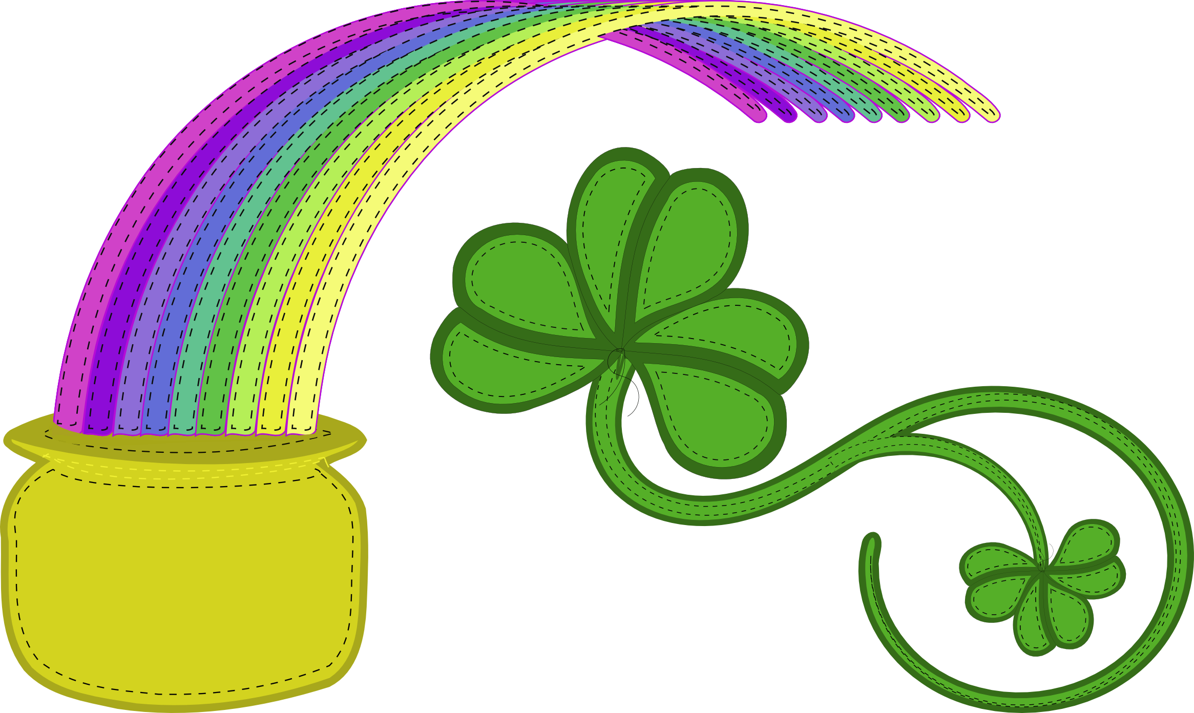 St. Patty's Clipart « Eye Draw It
