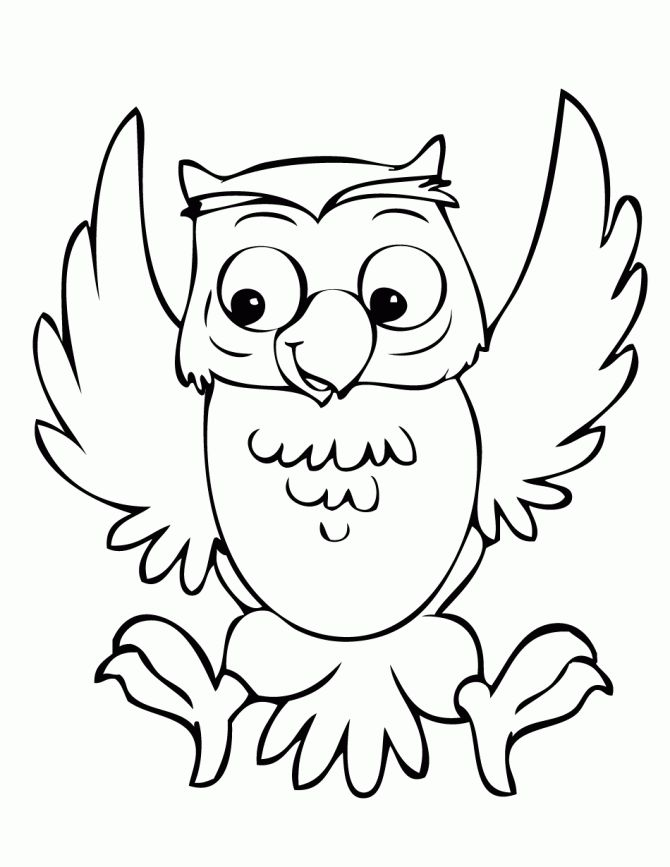 Owl Outline Clip Art - Cliparts.co