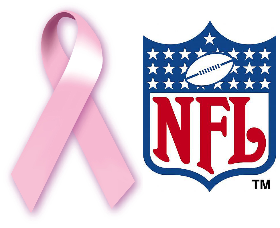 Hot pink gears for breast cancer awareness in NFL over the top ...