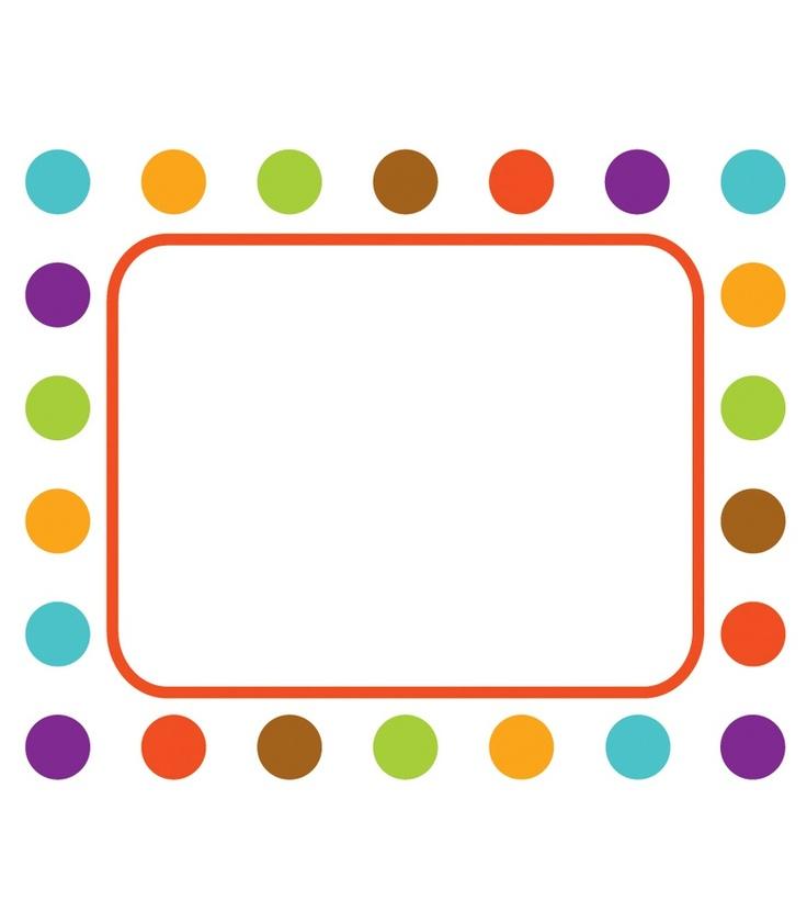 calypso name tags from carson dellosa calypso classroom d u00e9cor pin cliparts co pink polka dot border clip art polka dot border clip art free