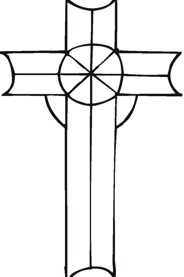 Celtic Border Patterns Free | CELTIC CROSS COLORING PAGES « ONLINE ... | 960x640