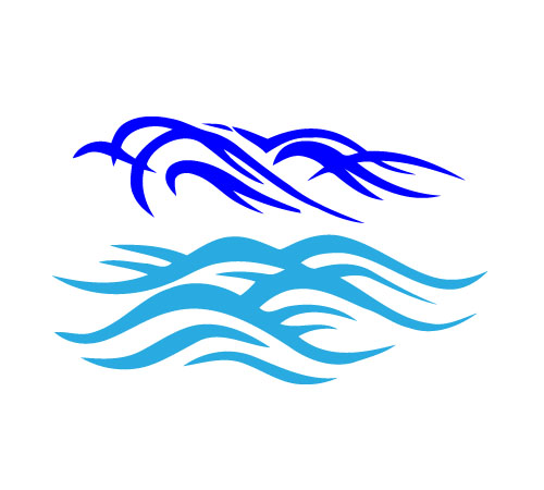 Ocean Waves Vector - Cliparts.co