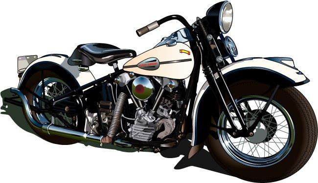 Harley Davidson Vector - Cliparts.co