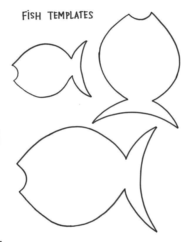 Fish Template - Cliparts.co