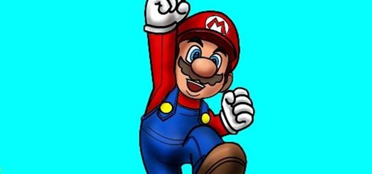 How to Draw Mario of Mario Bros. « Drawing & Illustration