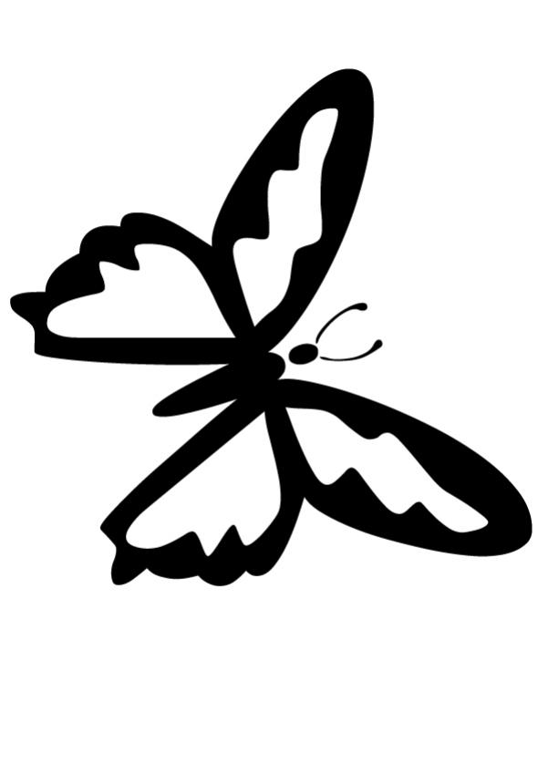 butterfly knife coloring pages - photo#36