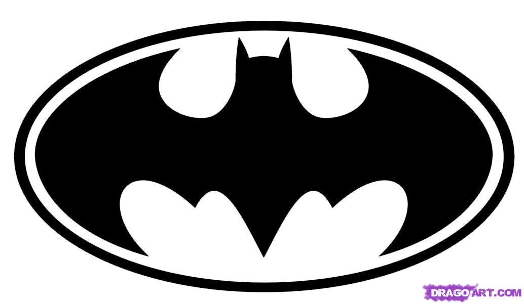Batman Logo Coloring Pages - Cliparts.co