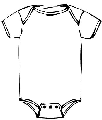 Baby Onesie Coloring Pages