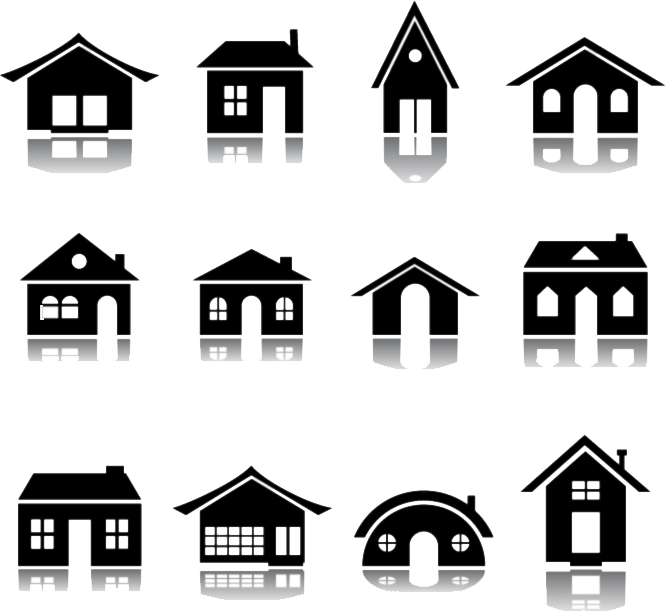 free vector clipart house - photo #3