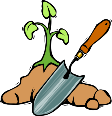 Pix For > Kids Gardening Clipart
