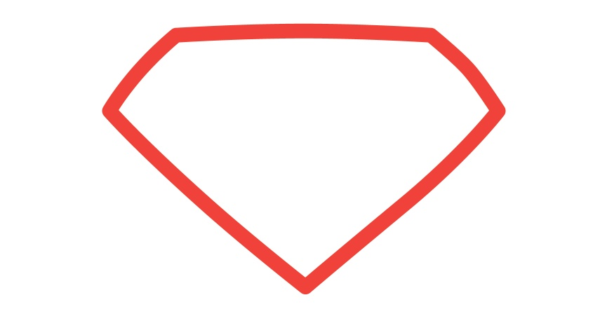 Man of Steel Symbol in Illustrator and Photoshop | Abduzeedo ...