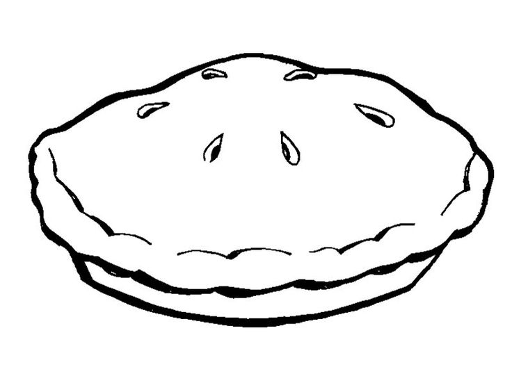 Coloring Pages Of Apple Pie : Apple pie clipart cliparts