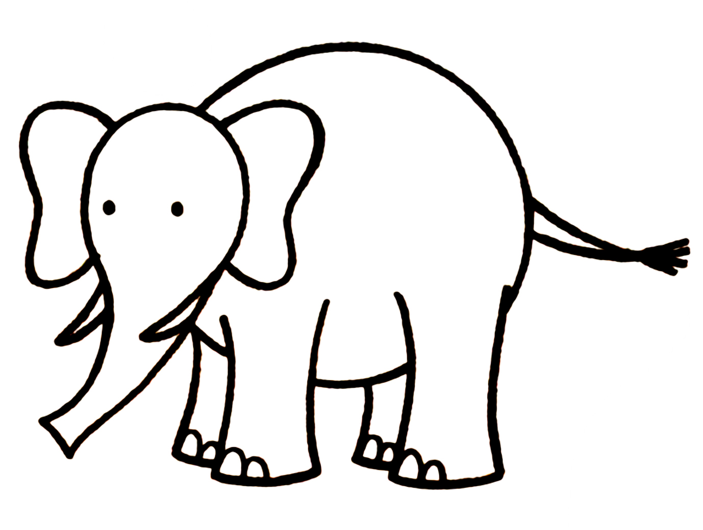 Elephant Drawings Images - Cliparts.co