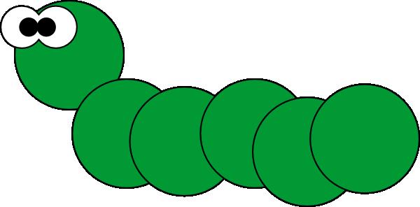 Caterpillar clip art - vector clip art online, royalty free ...