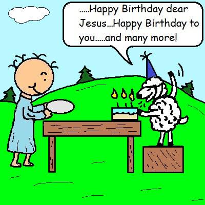 Baby Jesus Birthday Cake