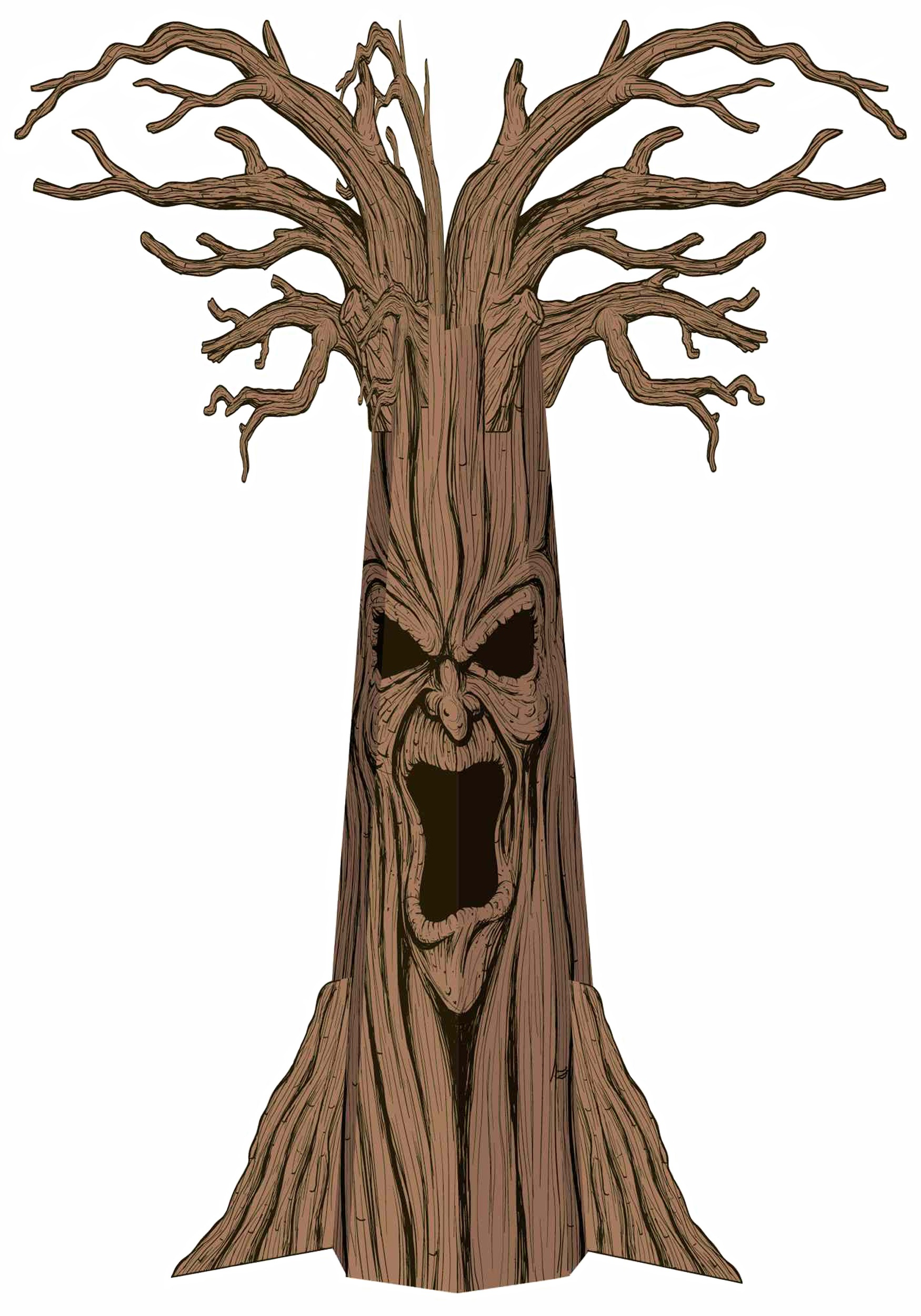 Scary Trees Clip Art - Cliparts.co