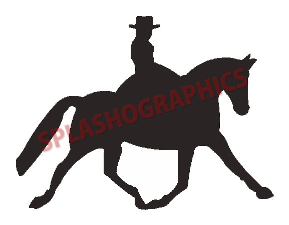 clip art dressage horse - photo #20