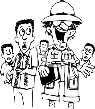 Royalty Free Occupations Clip Art Clipart Images For Tour Guide