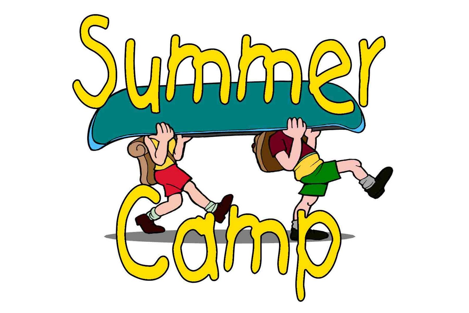 Pix For Cartoon Summer Camp