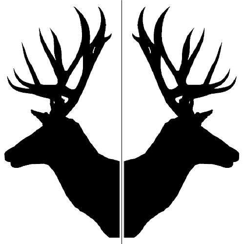 Deer amp Moose Stencil...