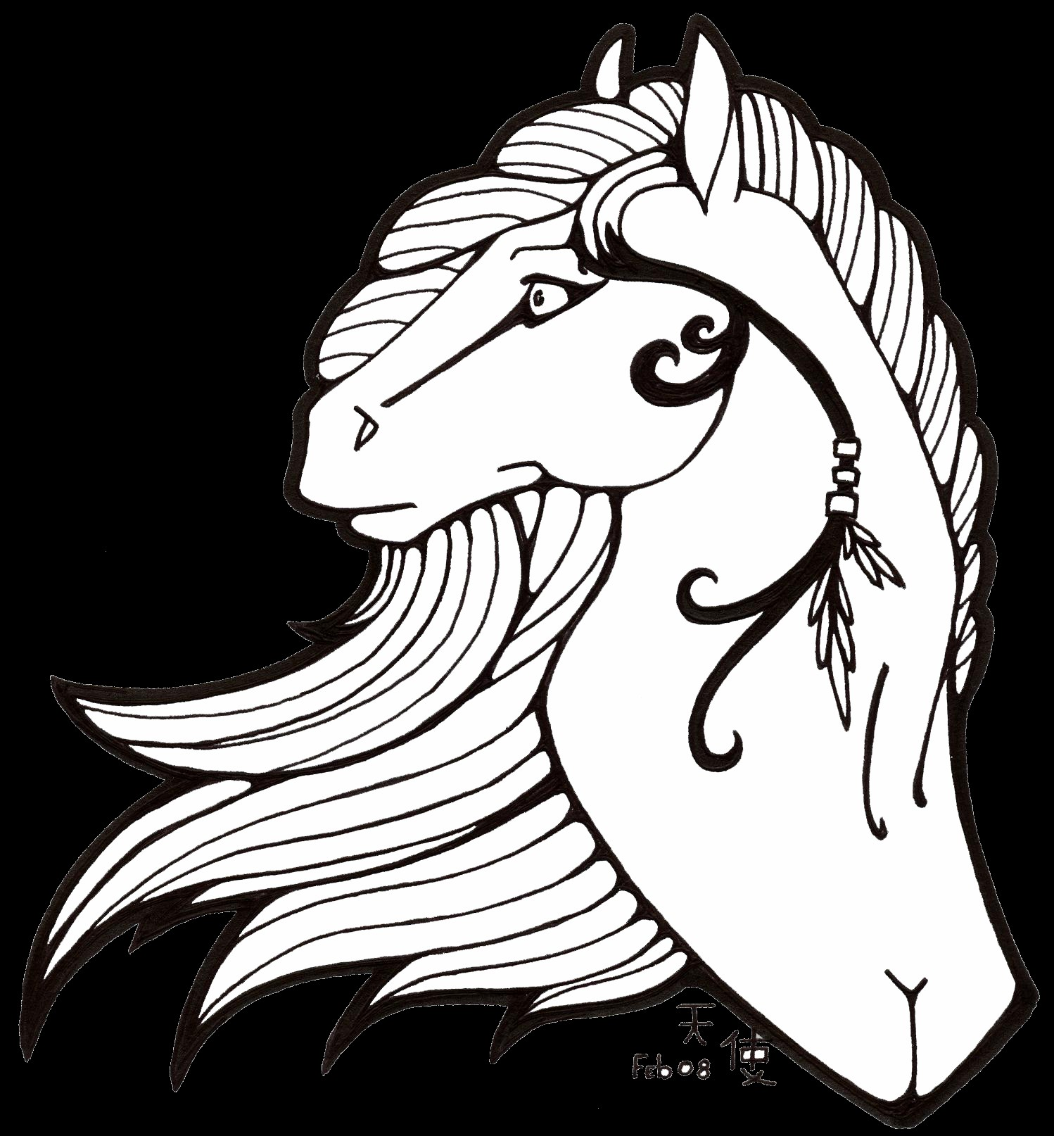new horse printable coloring pages 16 on print with - Coloring Pages Horses Printable