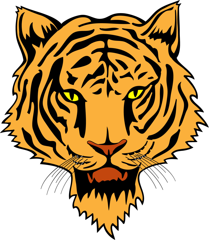 free tiger head clip art - photo #10