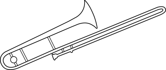 trombone coloring pages - photo#15