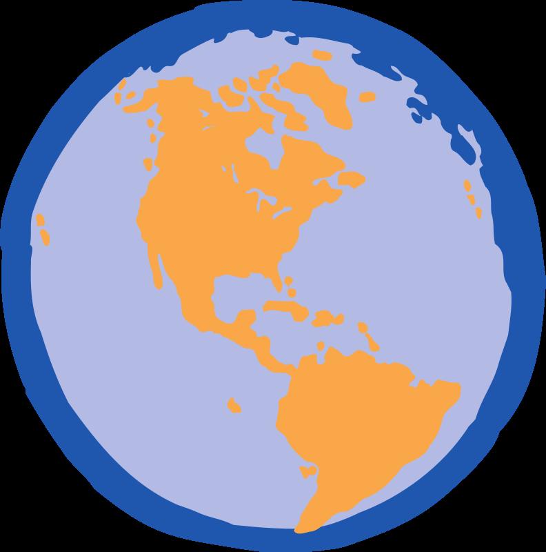 Clip Art World Map