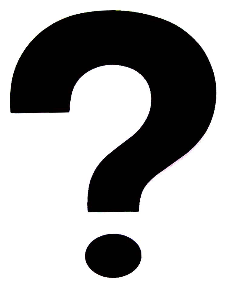 Coloring pages question mark - Question Mark Outline Cliparts Co