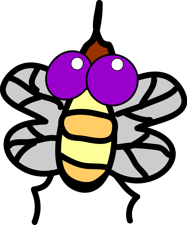 animated fly clipart - photo #37