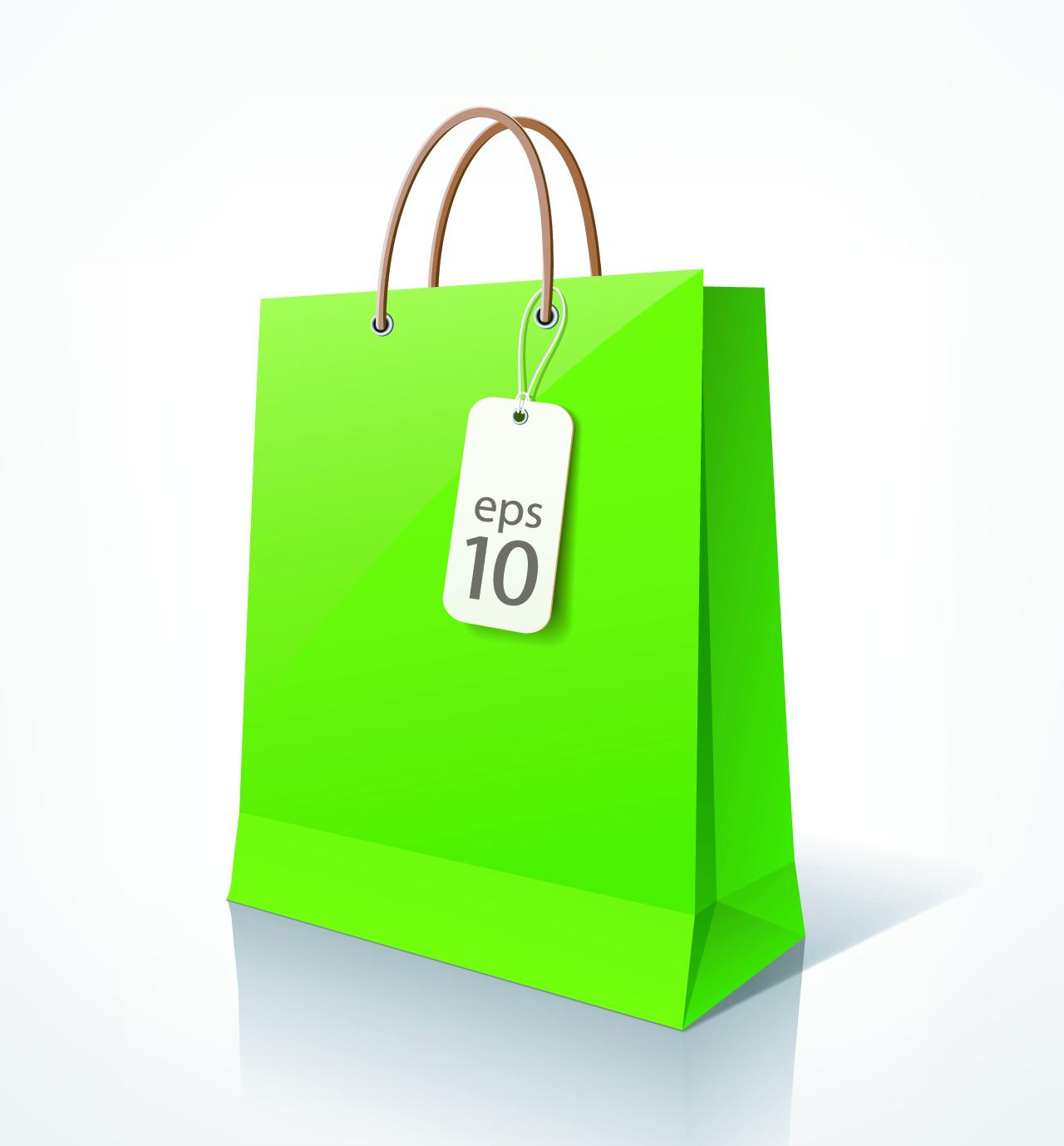 vector shopping bag. Black Bedroom Furniture Sets. Home Design Ideas