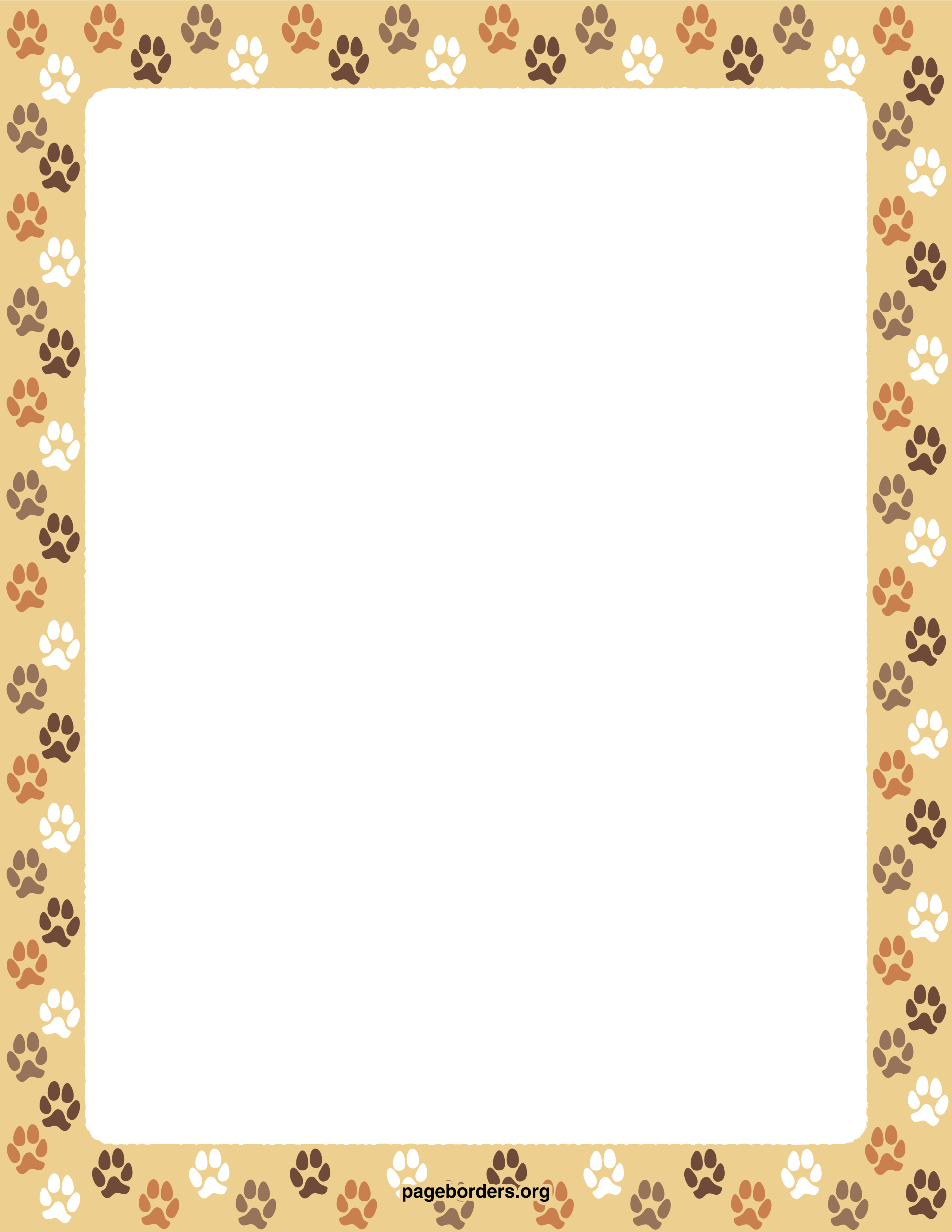 Dog borders and frames - photo#7