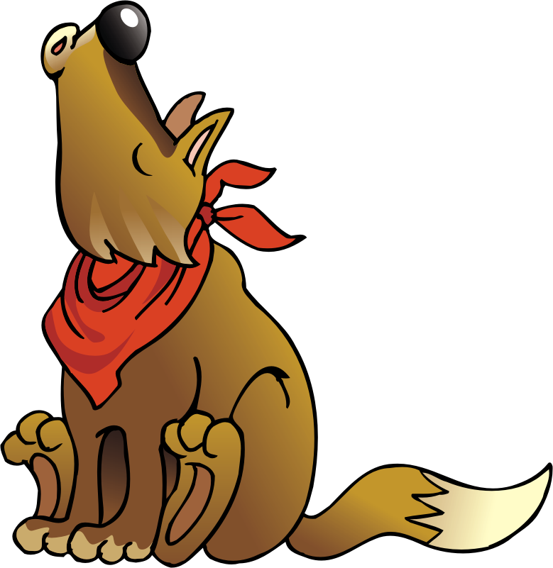 Howling Wolf Clipart - Cliparts.co