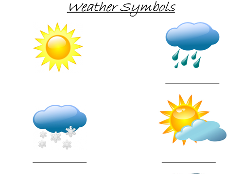 Weather Symbols Cliparts Co