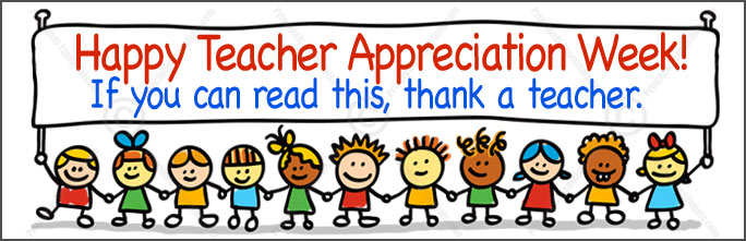 Teacher Appreciation Week - Cliparts.co