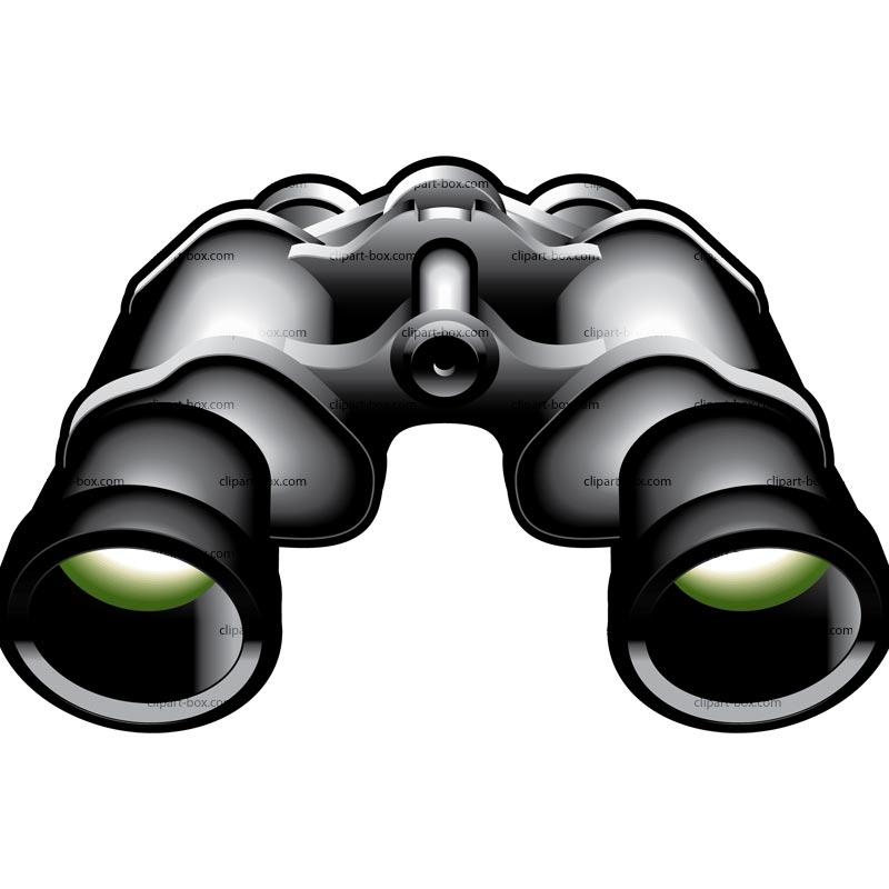binoculars clipart - photo #10